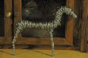 PrancingHorseSculptureWIP 006