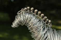 Draft Horse Sculpture, Various Bird Sculptures, Hand 006