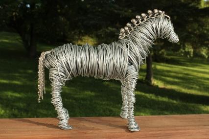 Draft Horse Sculpture, Various Bird Sculptures, Hand 013