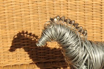 Draft Horse Sculpture, Various Bird Sculptures, Hand 024