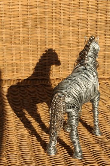 Draft Horse Sculpture, Various Bird Sculptures, Hand 027