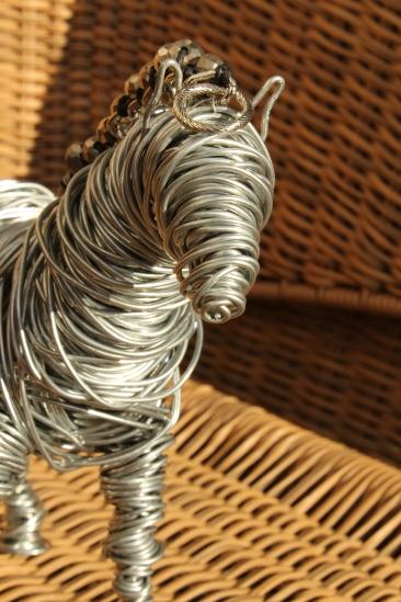 Draft Horse Sculpture, Various Bird Sculptures, Hand 031