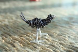 Draft Horse Sculpture, Various Bird Sculptures, Hand 062