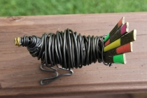 Piggy Finish & Black Turkey Sculpture 023