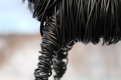 Black Horse Sculpture, Cats 015 - Copy