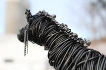 Black Horse Sculpture, Cats 016 - Copy