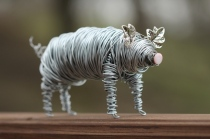 Pig Wire Sculpture 004 - Copy