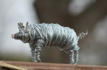 Pig Wire Sculpture 006 - Copy
