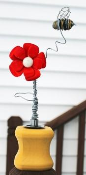 Bee sculpture (December 2013) and winter photos 026EDIT
