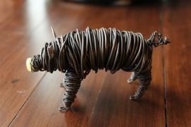 Commission Pig Sculpture (2 pig sculpts.) 003 - Copy