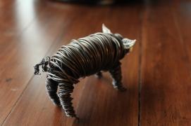 Commission Pig Sculpture (2 pig sculpts.) 009 - Copy