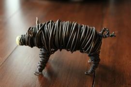 Commission Pig Sculpture (2 pig sculpts.) 012 - Copy