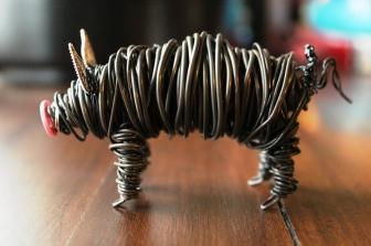 Commission Pig Sculpture (2 pig sculpts.) 019 - Copy