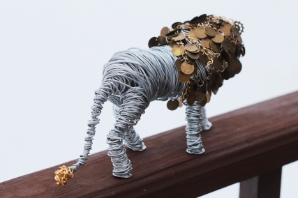 Lion sculpture finished 004 - Copy