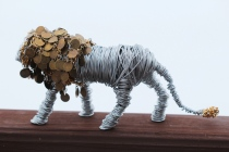 Lion sculpture finished 010 - Copy