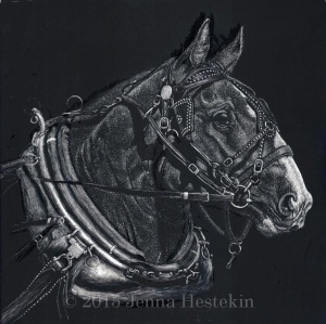 Draft Horse WIP 10 - CR