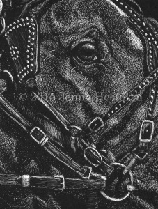Draft Horse 12 - Finished - crop CR
