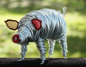 Silver Pig (Commission) Sold
